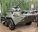 BTR-82A1 armored personnel carrier, 2014 (233 Kb)