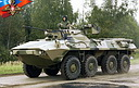 BTR-90 Rostok armored personnel carrier prototype (142 Kb)