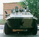 BTR-90 «Rostok» (GAZ-5923) armored personnel carrier prototype (99 Kb)
