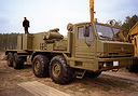 BAZ-6909 «Voschina-1» (8x8) special wheeled chassis (136 Kb)