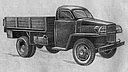 The first prototype of GAZ-51 truck, 05/1944 (111 Kb)