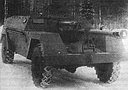 KSP-76 (GAZ-68) wheeled self-propelled gun