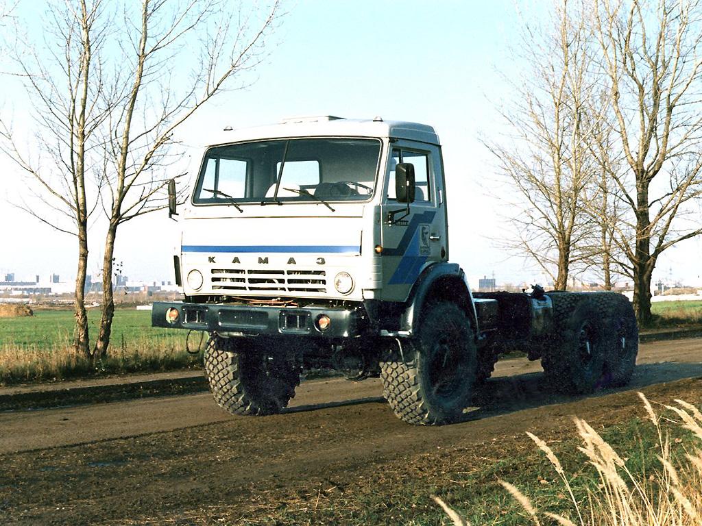 Шасси КамАЗ-43118 фото-2.