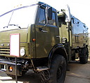 KamAZ-4350 (4x4) truck with R-161 radiostation (104 Kb)