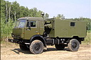 KamAZ-43501 truck with R-142N radiostation (71 Kb)