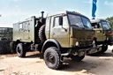 KamAZ-4350 (4x4) truck with R-142N radiostation (75 Kb)