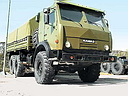 Armored KamAZ-5350 «Mustang» (6x6) army truck (39 Kb)