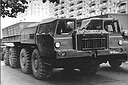 MAZ-543P (8x8) army trucks, 1970 (48 Kb)