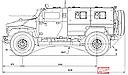 VPK-39271 «Volk-1» truck scheme (56 Kb)