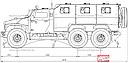 VPK-39273 «Volk-3» truck scheme (51 Kb)
