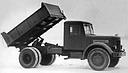 Preserial YaAZ-205 dump truck, 1946 (276 Kb)