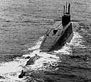 Project 667BDRM nuclear strategic missile submarine (DELTA-IV class)