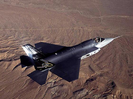 Палубный истребитель F-35C