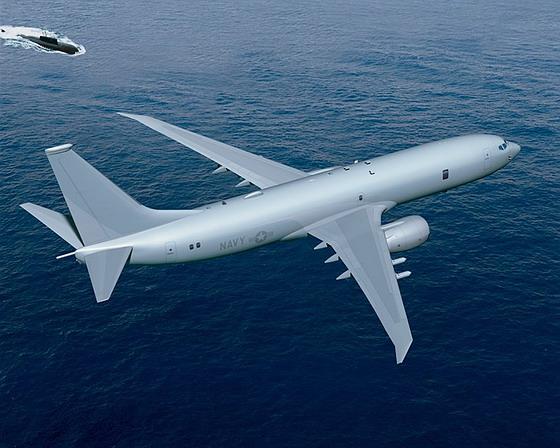 Самолёт базовой патрульной авиации p 8a